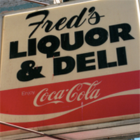 Fred's Liquor Store Christmas Lunch for the Homeless